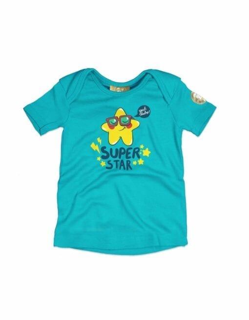 t-shirt bébé super star