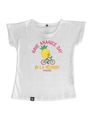 t-shirt fille have ananice day