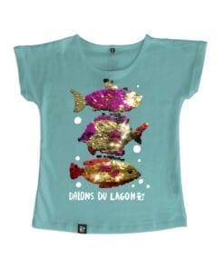 t-shirt fille dallons