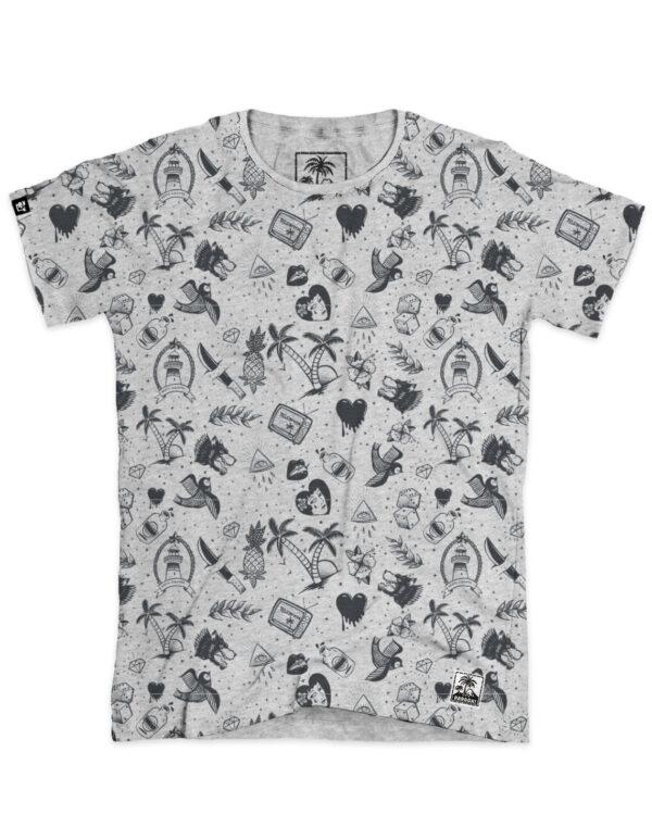 t-shirt homme aop tatoo