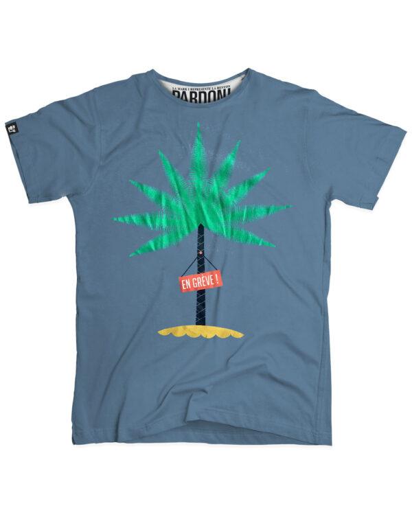 t-shirt homme en greve