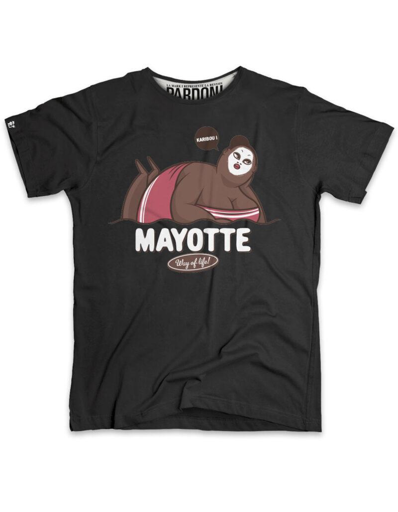 t-shirt homme karibou