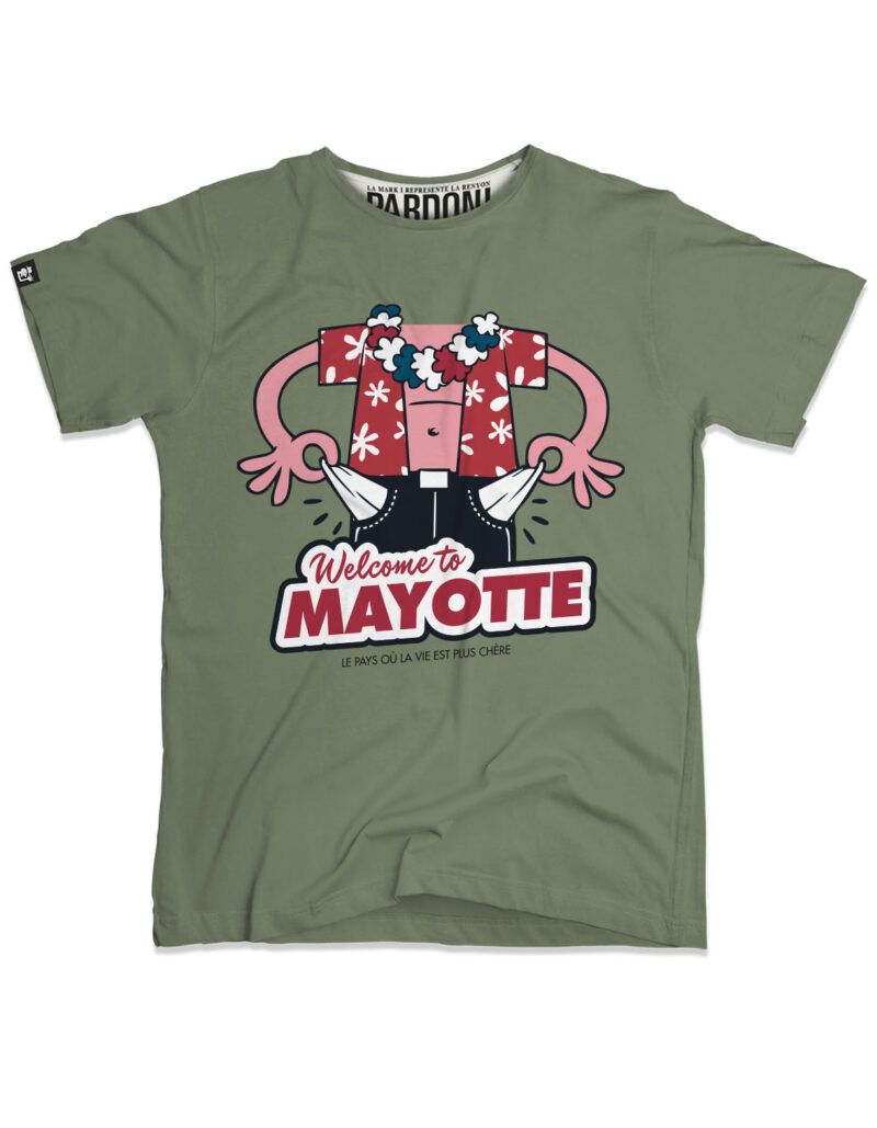 t-shirt homme mayotte